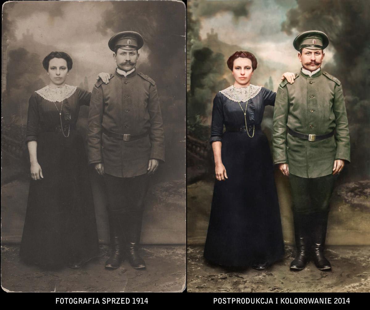 Portret pradziadków