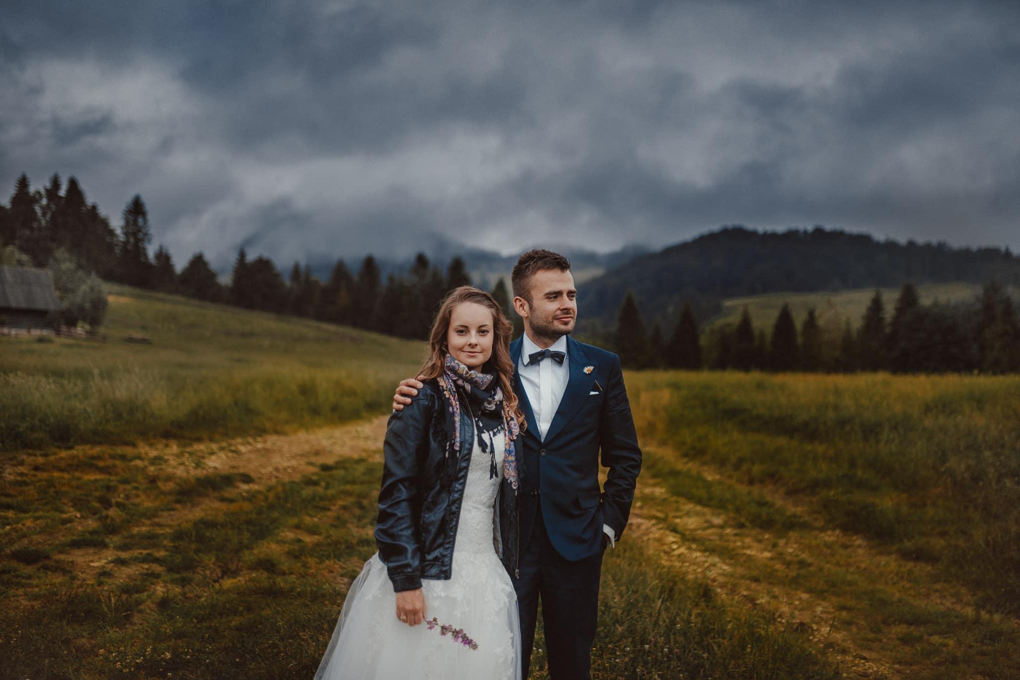 Michał i Paulina – górski plener