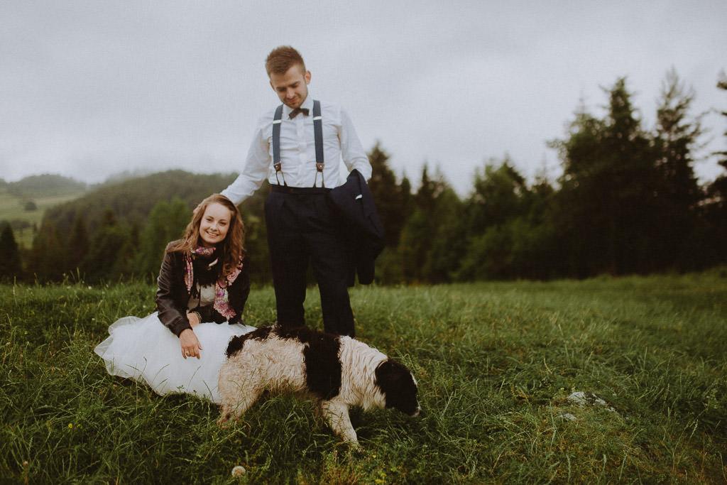 Michał i Paulina – górski plener 86