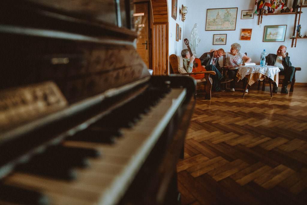 fortepian rodzina