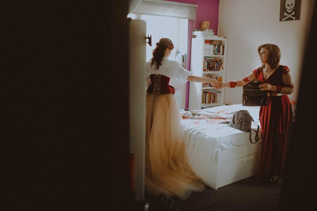 Ewa i Bartek, ślub słowiański, Art Impression House 16