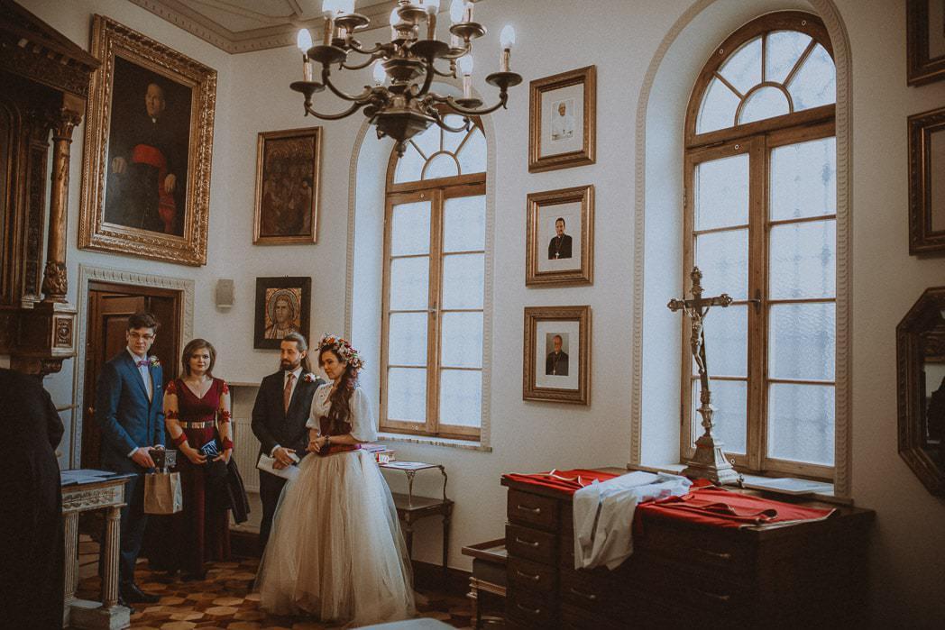 Ewa i Bartek, ślub słowiański, Art Impression House 30