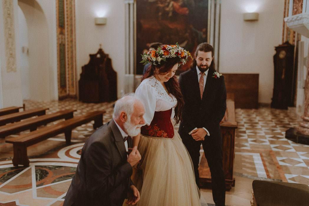 Ewa i Bartek, ślub słowiański, Art Impression House 38