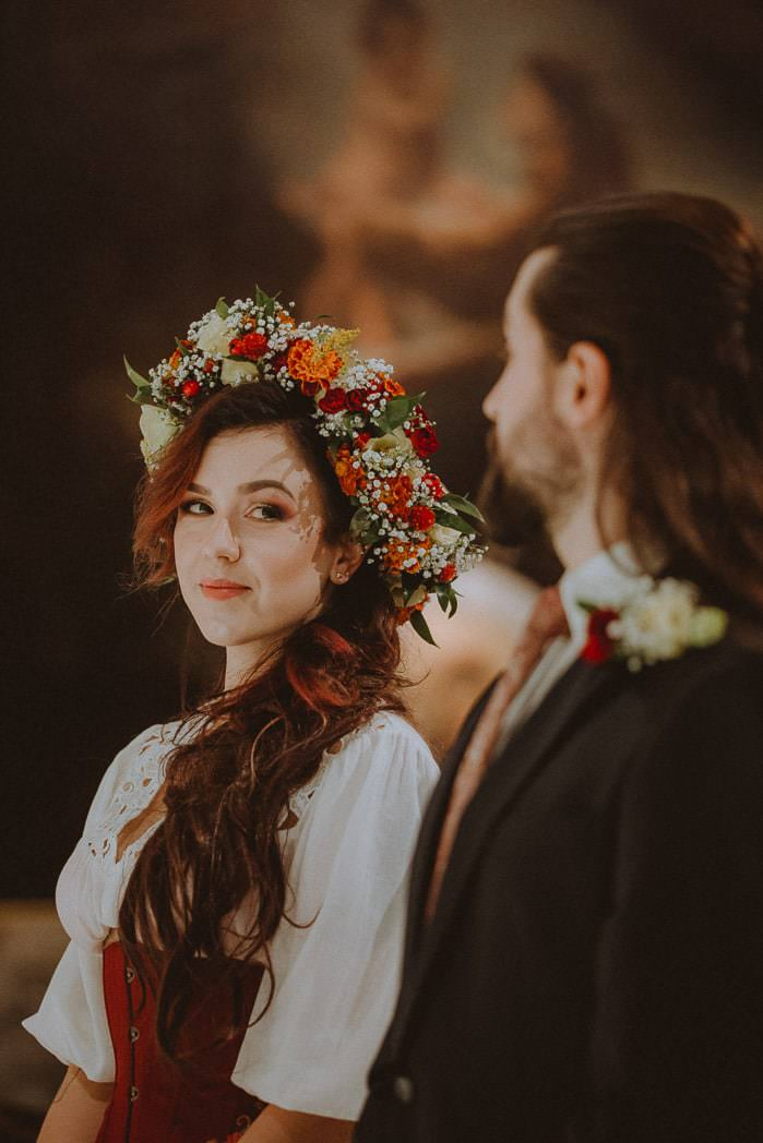 Ewa i Bartek, ślub słowiański, Art Impression House 41