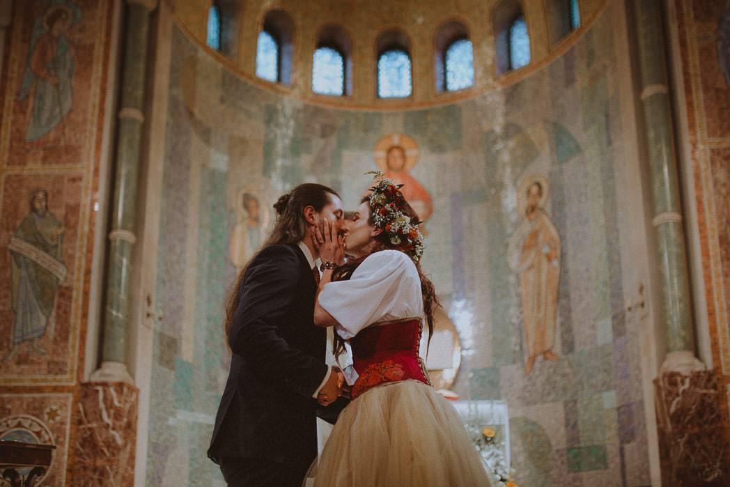 Ewa i Bartek, ślub słowiański, Art Impression House 47