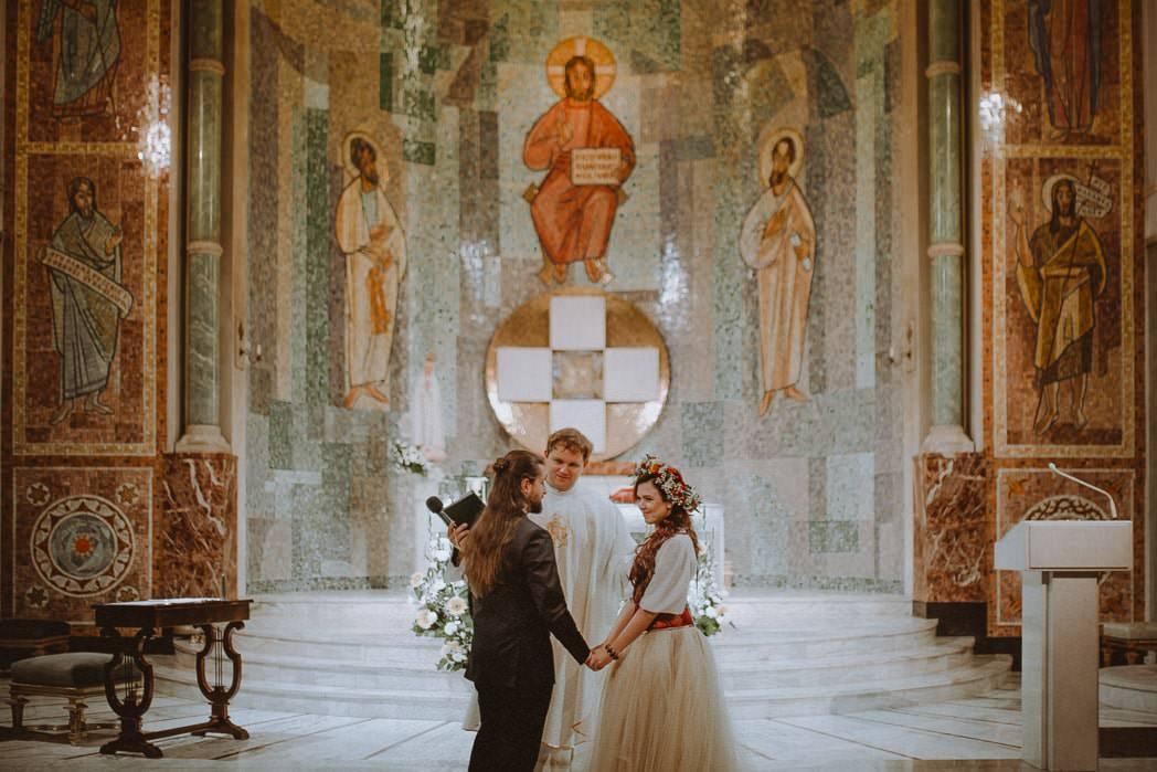 Ewa i Bartek, ślub słowiański, Art Impression House 52