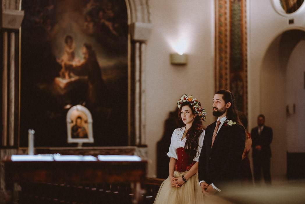 Ewa i Bartek, ślub słowiański, Art Impression House 54
