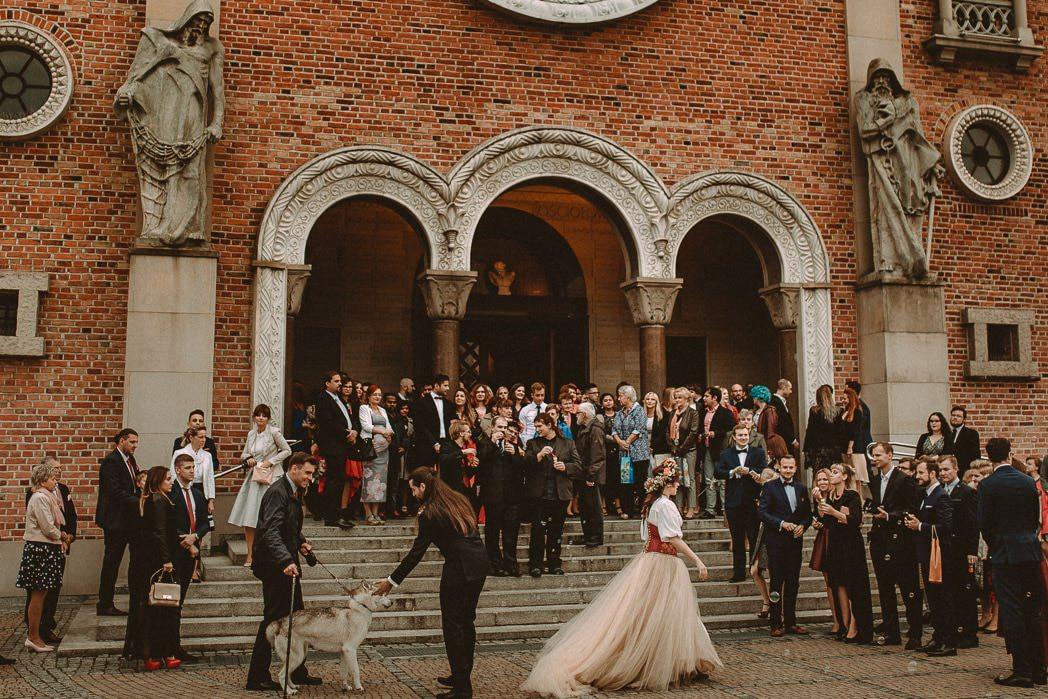 Ewa i Bartek, ślub słowiański, Art Impression House 63