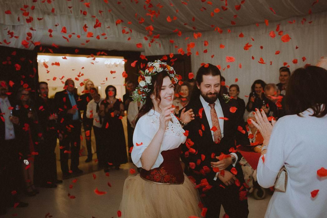 Ewa i Bartek, ślub słowiański, Art Impression House 76