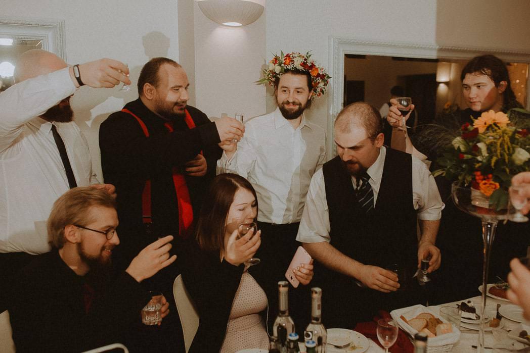 Ewa i Bartek, ślub słowiański, Art Impression House 92
