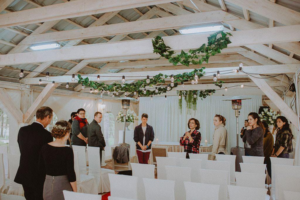 Klaudia i Stefano, plenerowy ślub ekumeniczny, Złotopolska Dolina 26