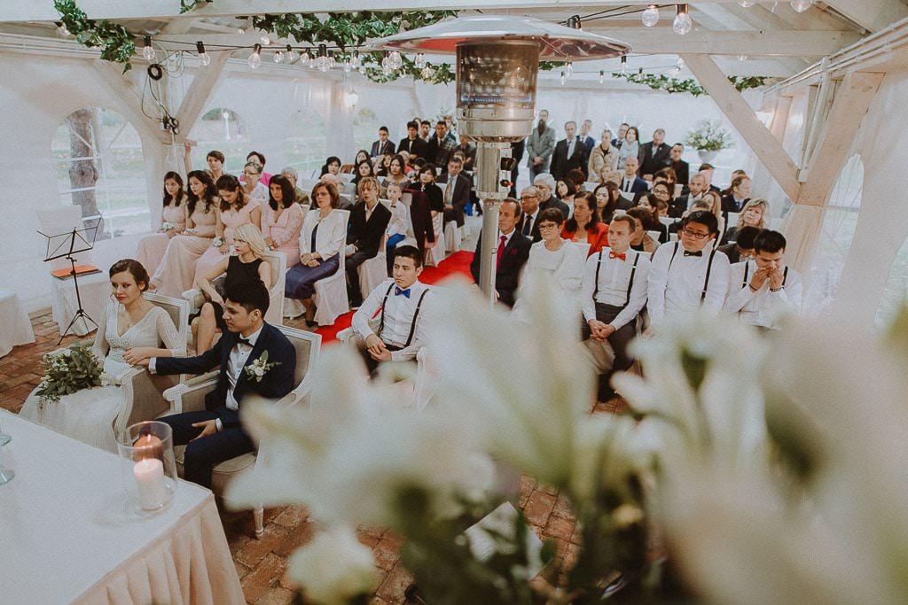 Klaudia i Stefano, plenerowy ślub ekumeniczny, Złotopolska Dolina 55