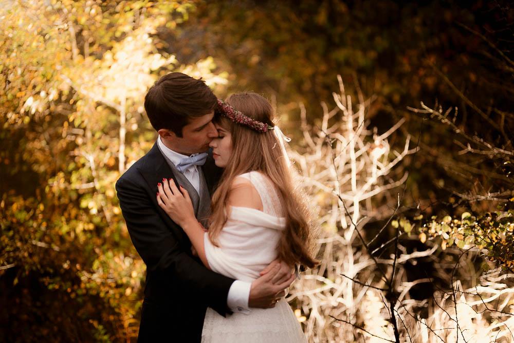Paulina i Karol, romantyczny plener jesienny w sukni Anna Kara i swetrze 47