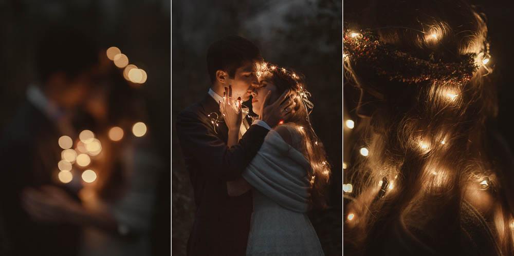 Paulina i Karol, romantyczny plener jesienny w sukni Anna Kara i swetrze 49