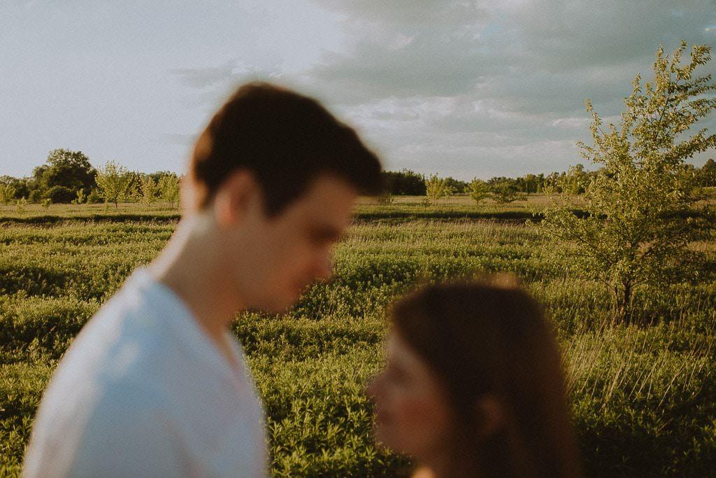 Daria i Piotr, sesja narzeczeńska nad Wisłą 31