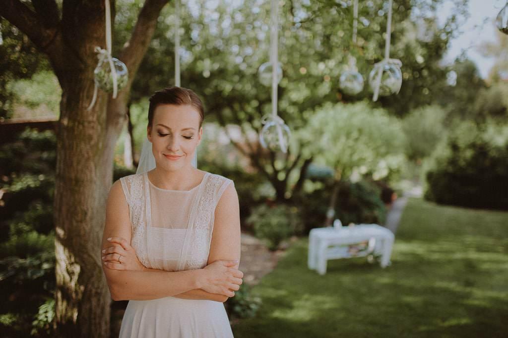 Marta i Tomasz - rustykalny ślub z aniołami, Kalisz 12