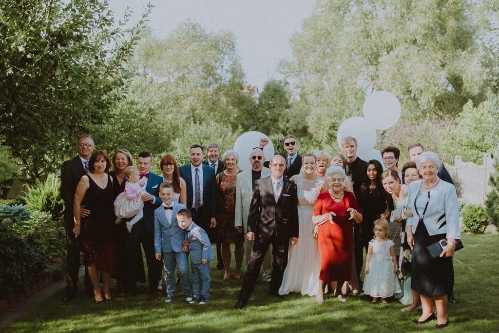 Marta i Tomasz - rustykalny ślub z aniołami, Kalisz 15