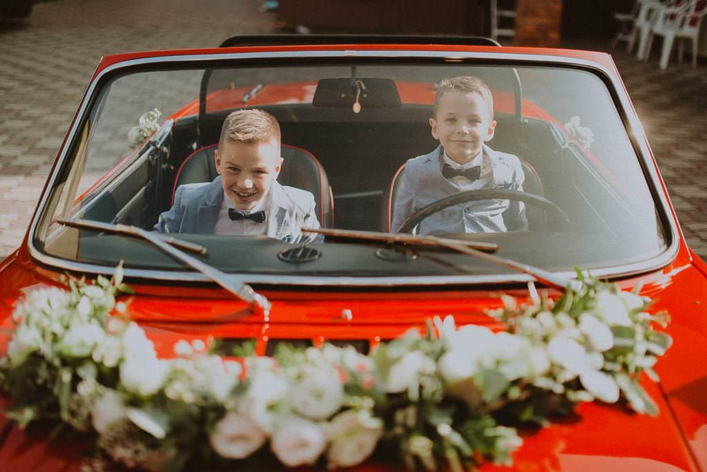 Marta i Tomasz - rustykalny ślub z aniołami, Kalisz 23