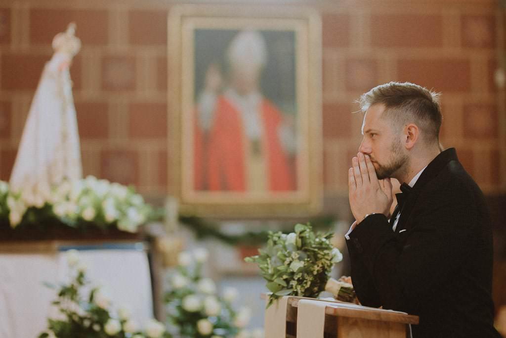 Marta i Tomasz - rustykalny ślub z aniołami, Kalisz 45