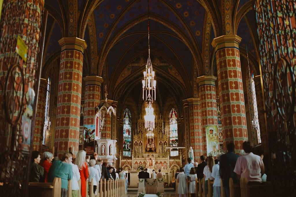 Marta i Tomasz - rustykalny ślub z aniołami, Kalisz 46