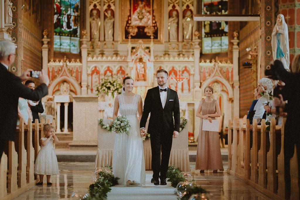 Marta i Tomasz - rustykalny ślub z aniołami, Kalisz 48