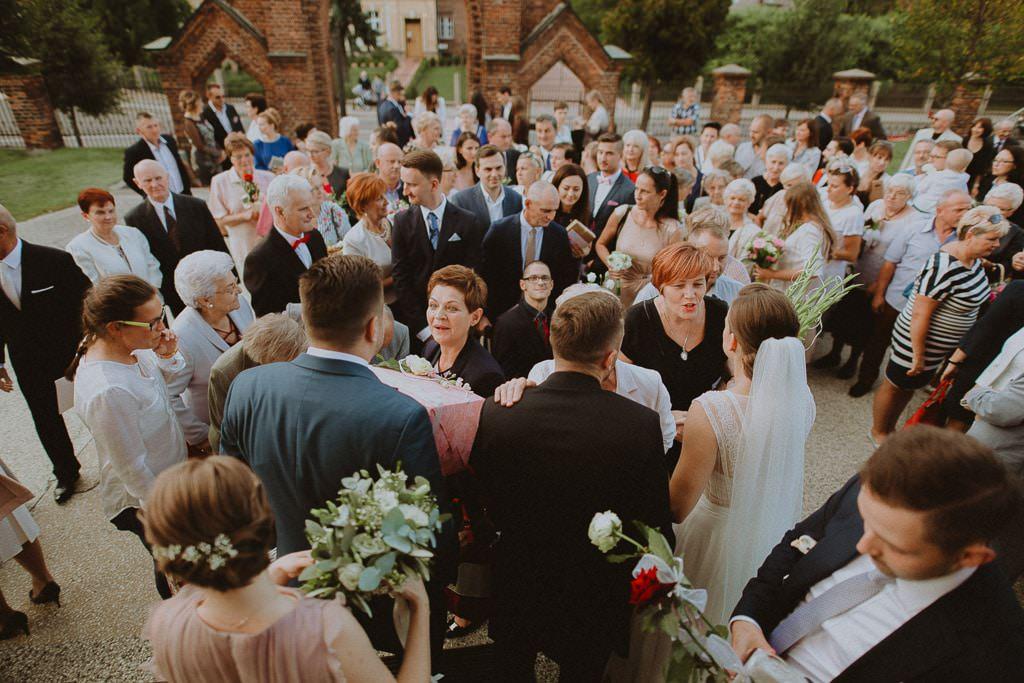 Marta i Tomasz - rustykalny ślub z aniołami, Kalisz 51