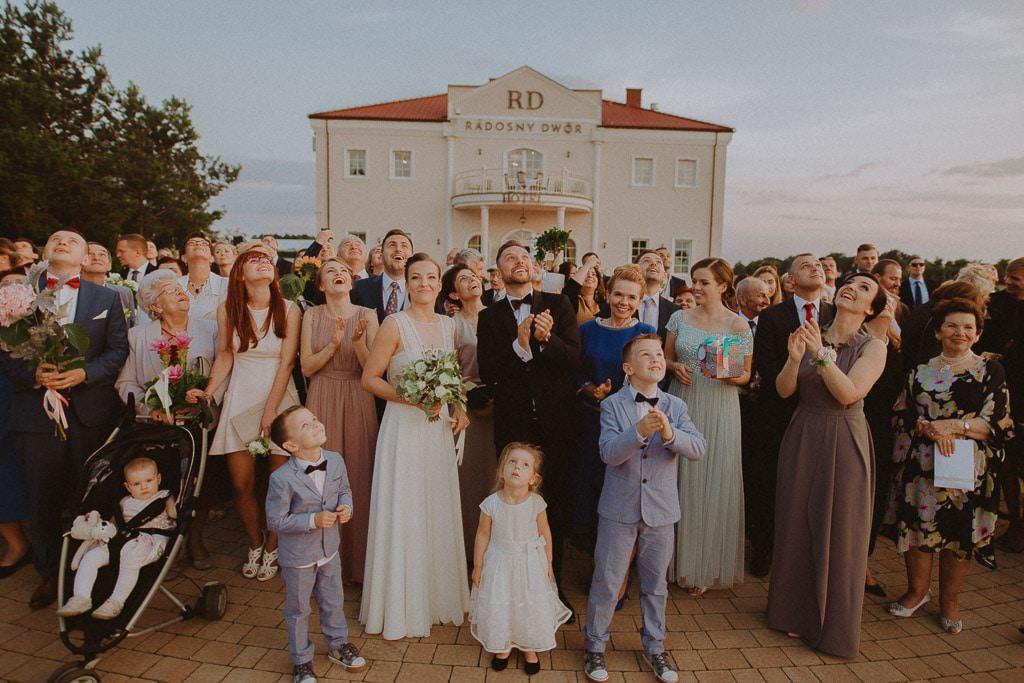 Marta i Tomasz - rustykalny ślub z aniołami, Kalisz 59
