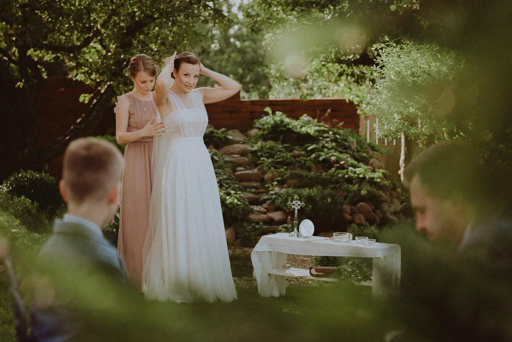Marta i Tomasz - rustykalny ślub z aniołami, Kalisz 9