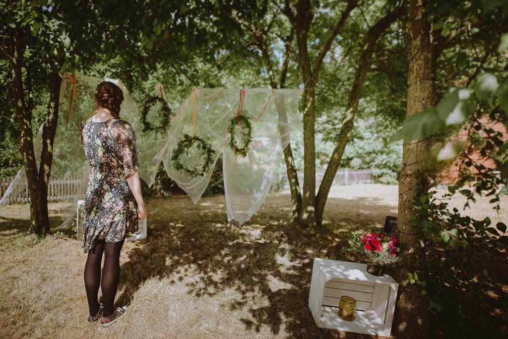Natalia i Miłosz – plenerowy ślub humanistyczny, Młyn Kowalewko 12