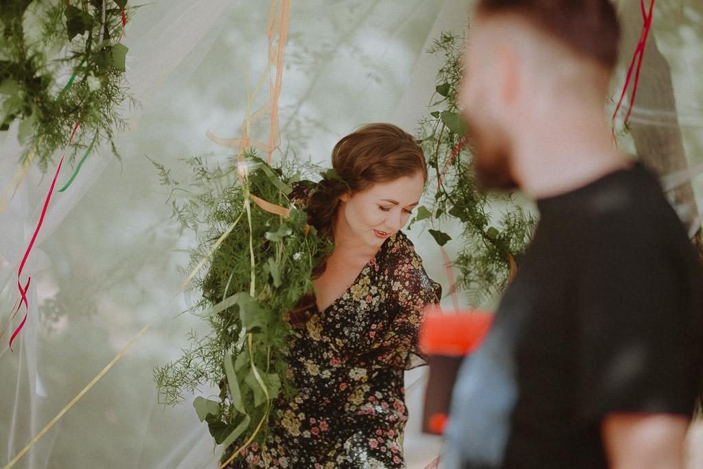 Natalia i Miłosz – plenerowy ślub humanistyczny, Młyn Kowalewko 13