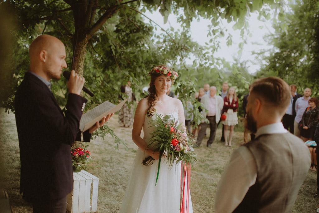 Natalia i Miłosz – plenerowy ślub humanistyczny, Młyn Kowalewko 27