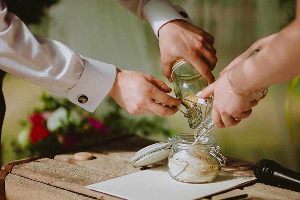Natalia i Miłosz – plenerowy ślub humanistyczny, Młyn Kowalewko 30