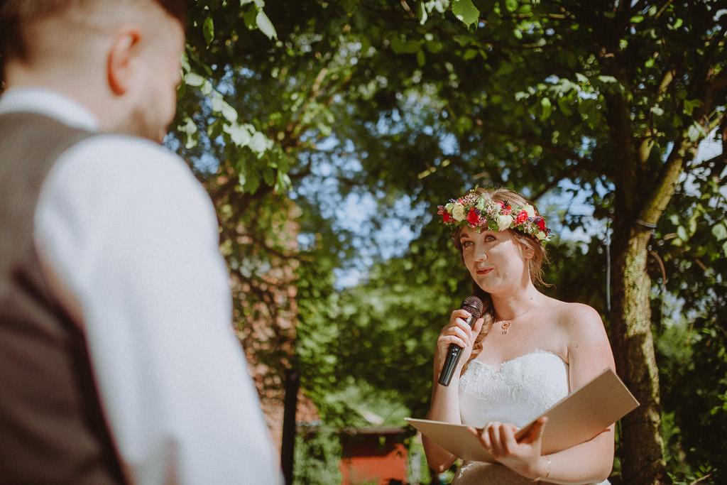 Natalia i Miłosz – plenerowy ślub humanistyczny, Młyn Kowalewko 33