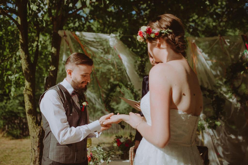 Natalia i Miłosz – plenerowy ślub humanistyczny, Młyn Kowalewko 149