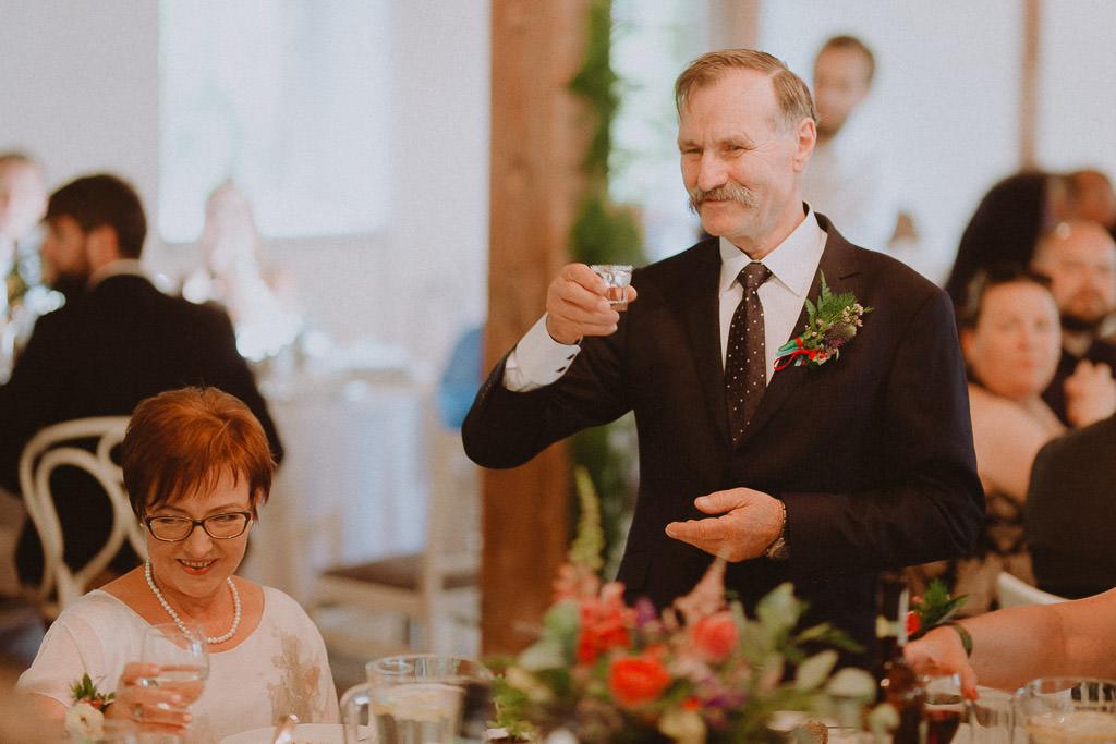 Natalia i Miłosz – plenerowy ślub humanistyczny, Młyn Kowalewko 58