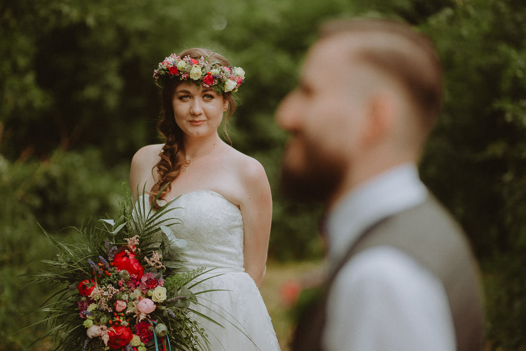Natalia i Miłosz – plenerowy ślub humanistyczny, Młyn Kowalewko 64