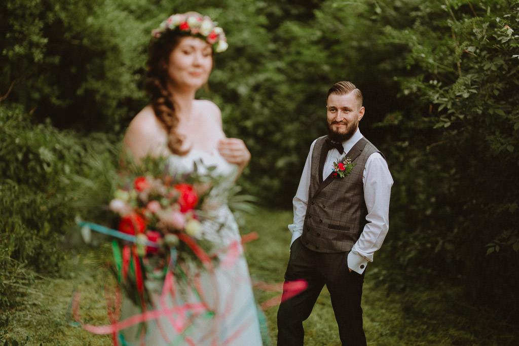 Natalia i Miłosz – plenerowy ślub humanistyczny, Młyn Kowalewko 68