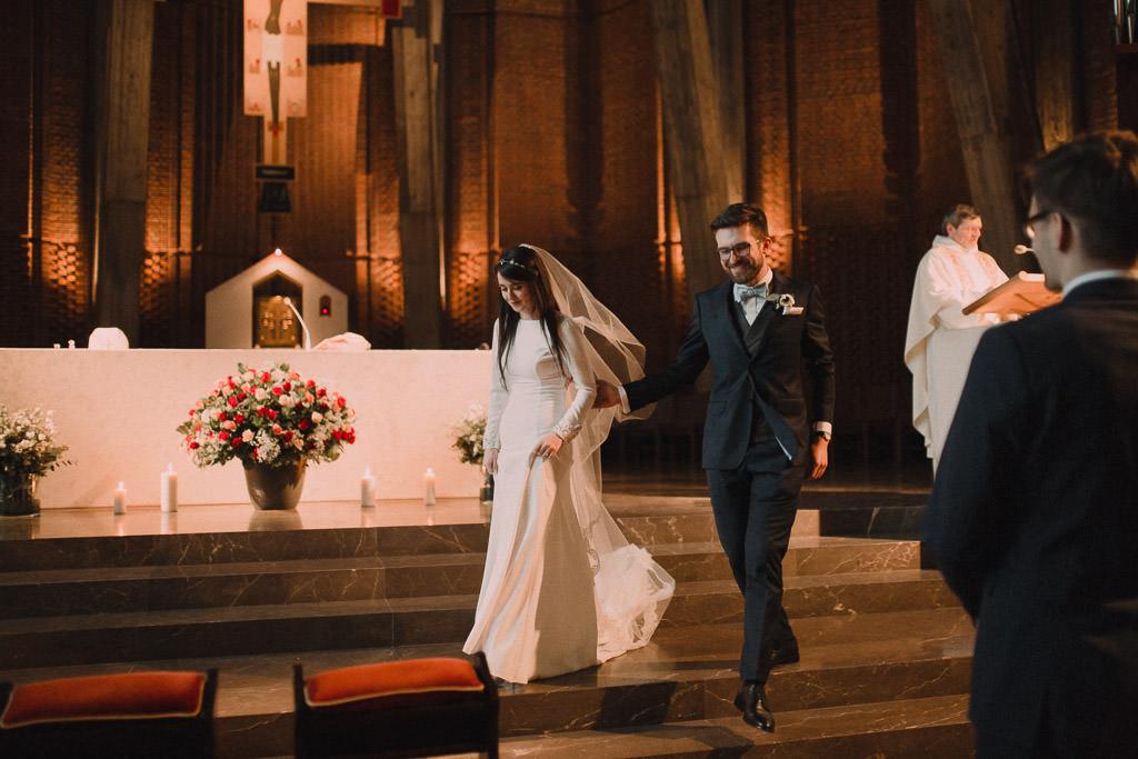 Jakub i Asia,  Zimowy ślub u Dominikanów + Stodoła wszystkich Świętych zwana Oczyszczalnią 129