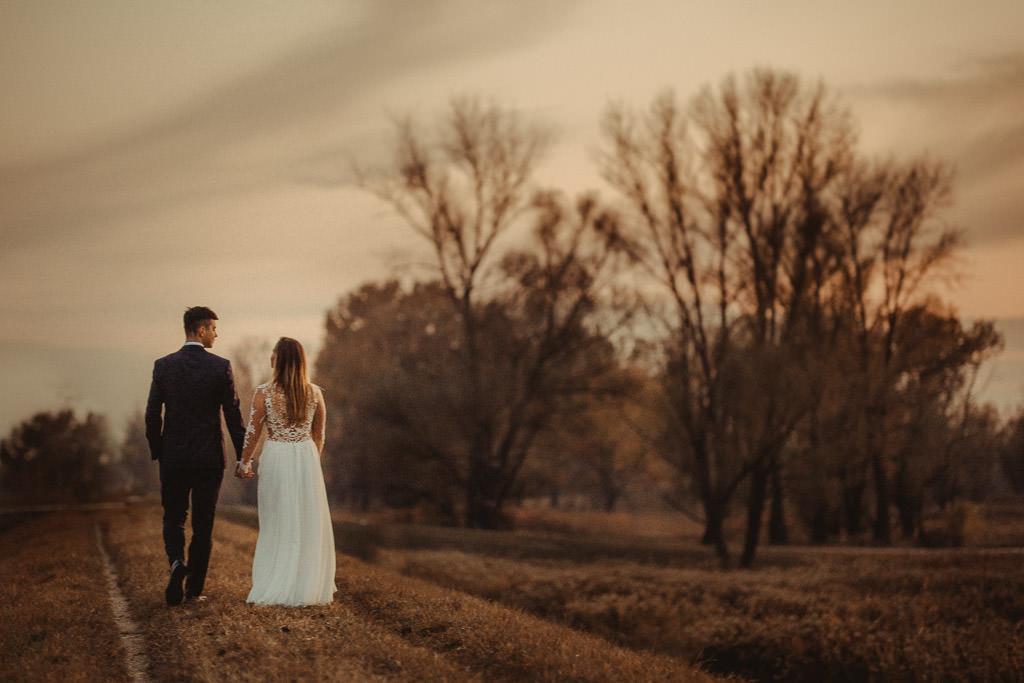 Angelika + Michał, plener jesienny, podwójna ekspozycja 26
