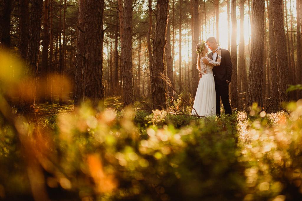 Angelika + Michał, plener jesienny, podwójna ekspozycja 34