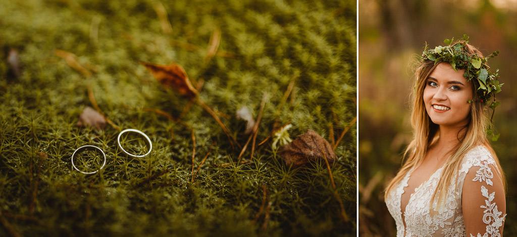 Angelika + Michał, plener jesienny, podwójna ekspozycja 9
