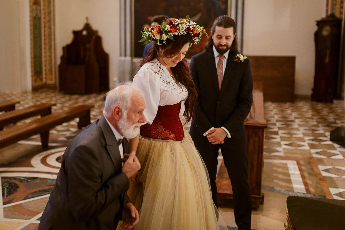 Ewa i Bartek, ślub słowiański, Art Impression House 109