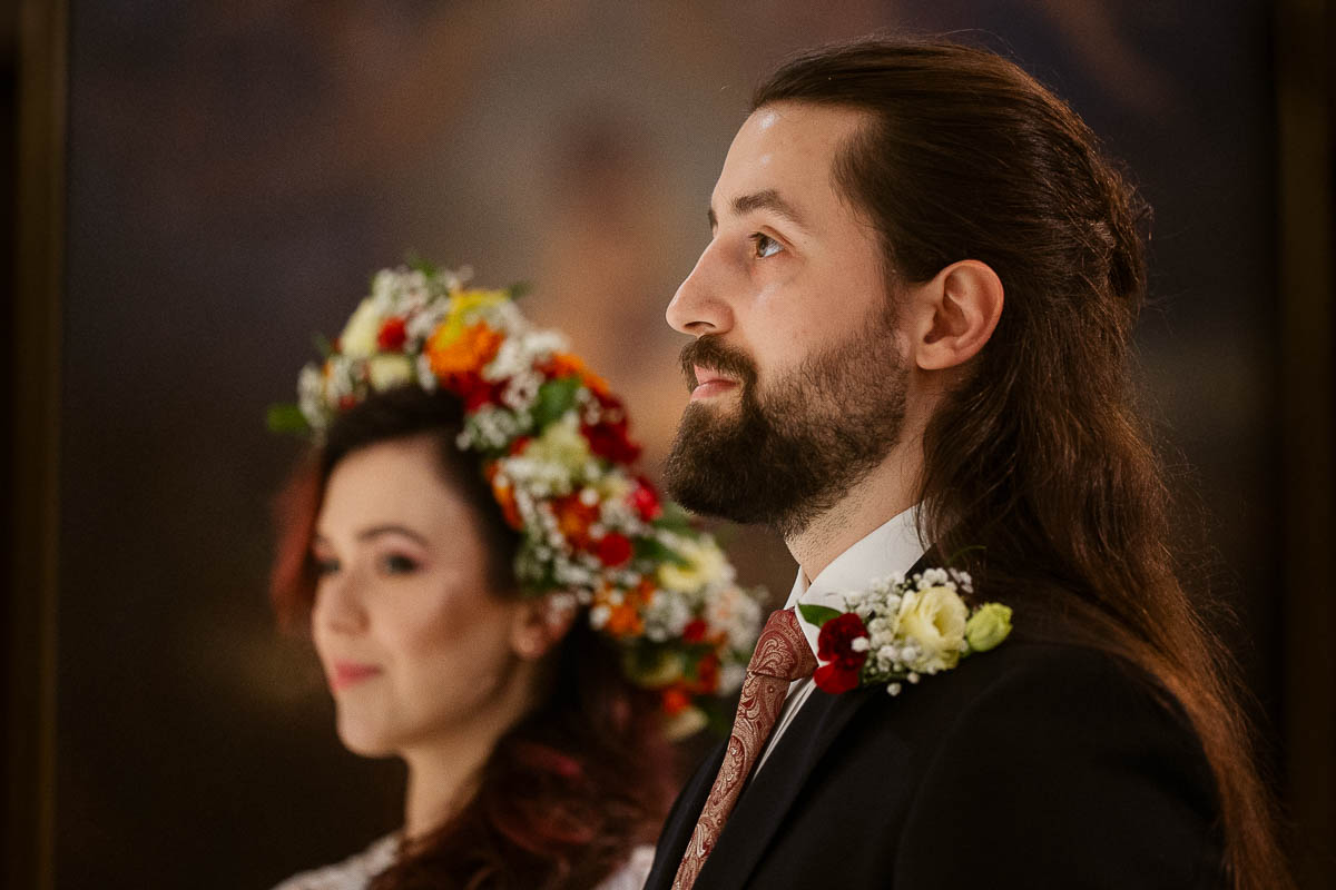 Ewa i Bartek, ślub słowiański, Art Impression House 111