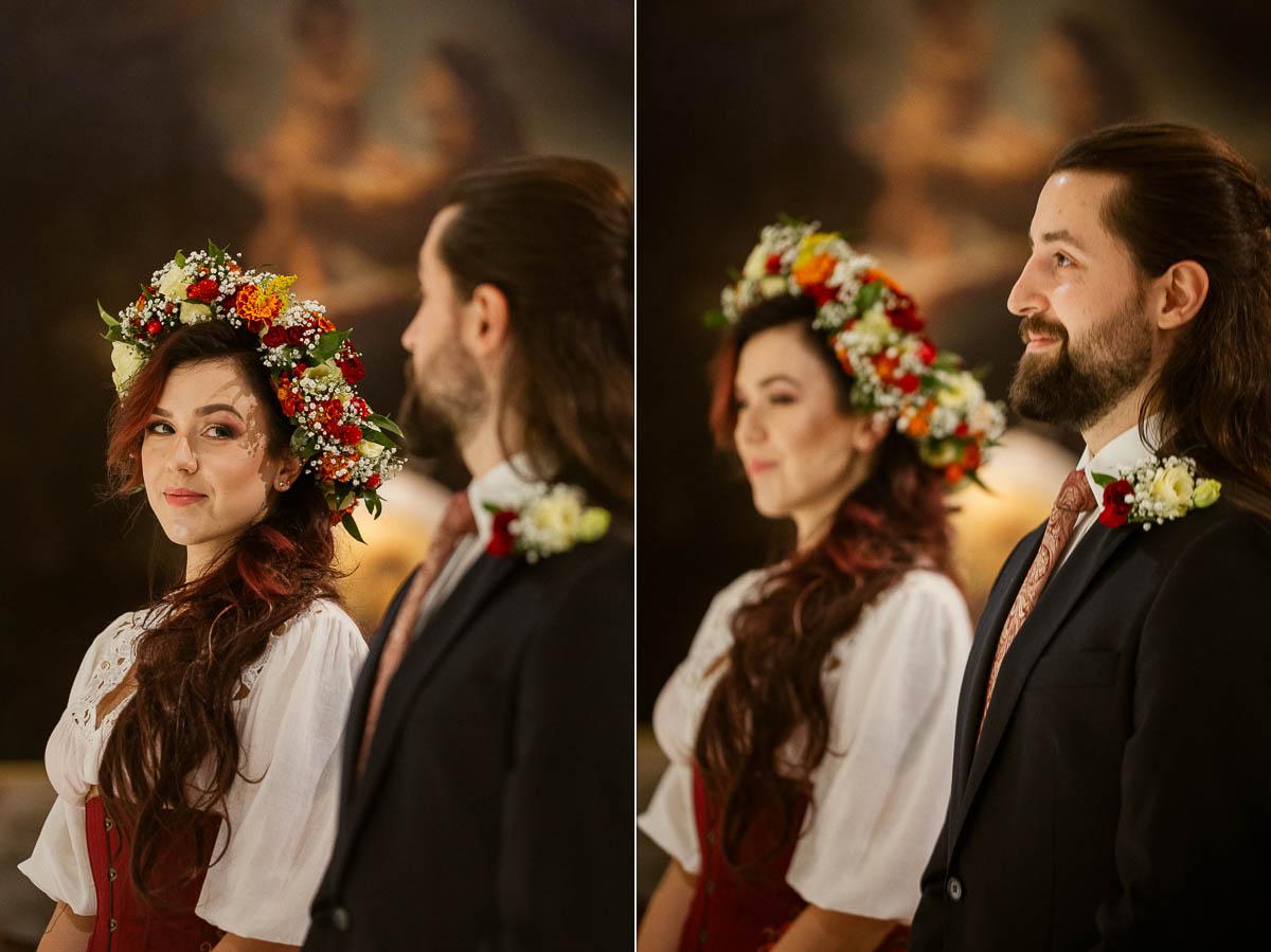 Ewa i Bartek, ślub słowiański, Art Impression House 25