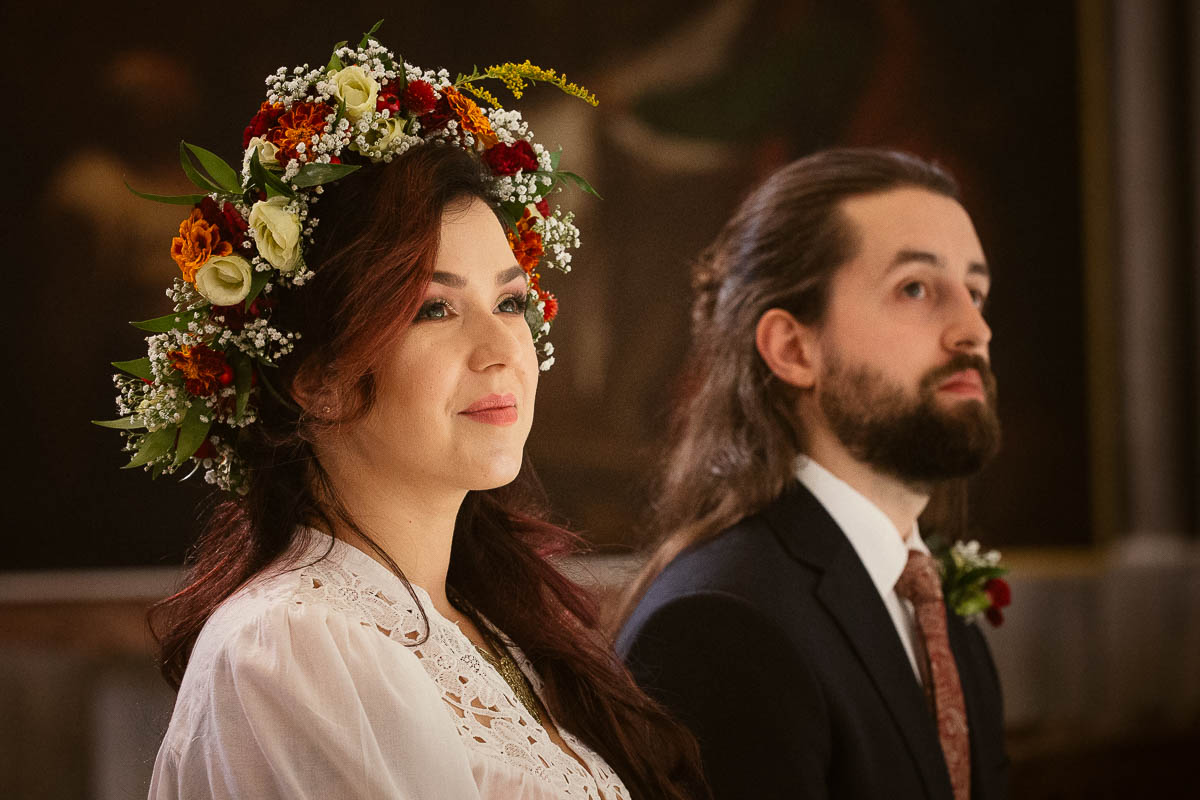 Ewa i Bartek, ślub słowiański, Art Impression House 126