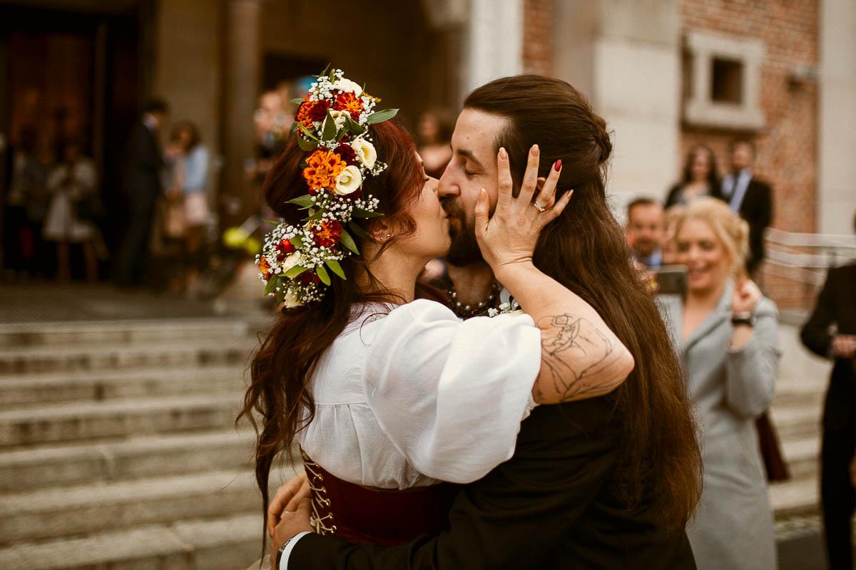 Ewa i Bartek, ślub słowiański, Art Impression House 131