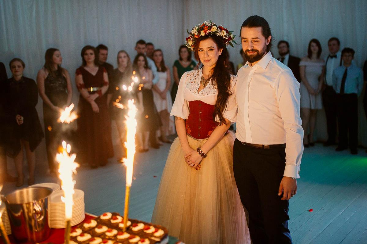 Ewa i Bartek, ślub słowiański, Art Impression House 152