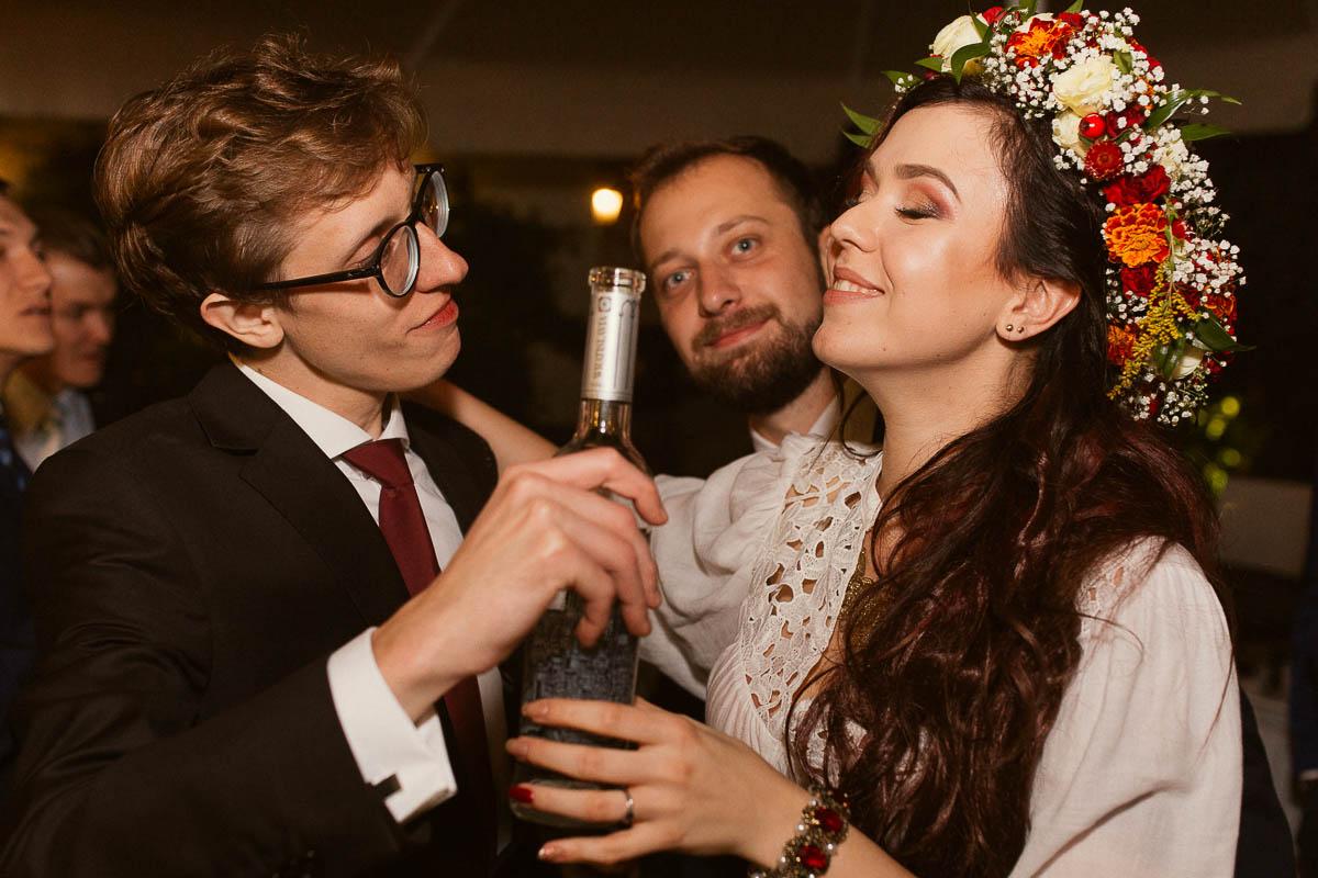 Ewa i Bartek, ślub słowiański, Art Impression House 155