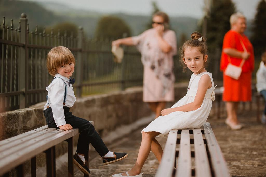 Michał + Angelika, rustykalny Ślub nad jeziorem 29