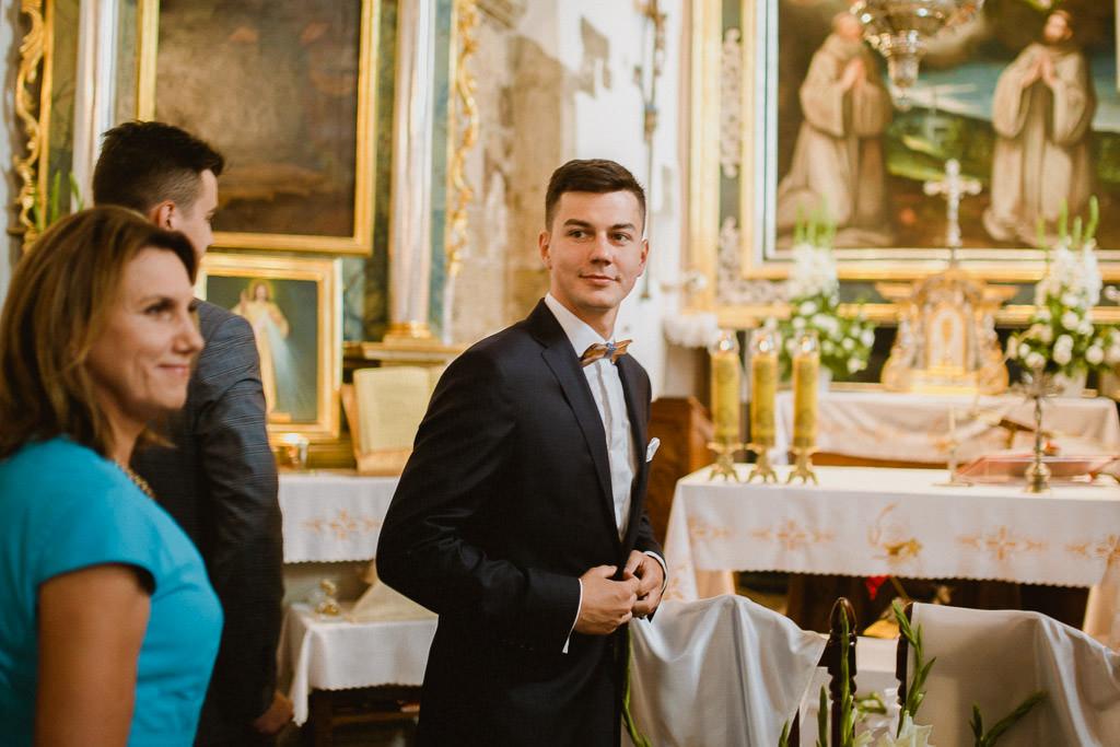 Michał + Angelika, rustykalny Ślub nad jeziorem 38